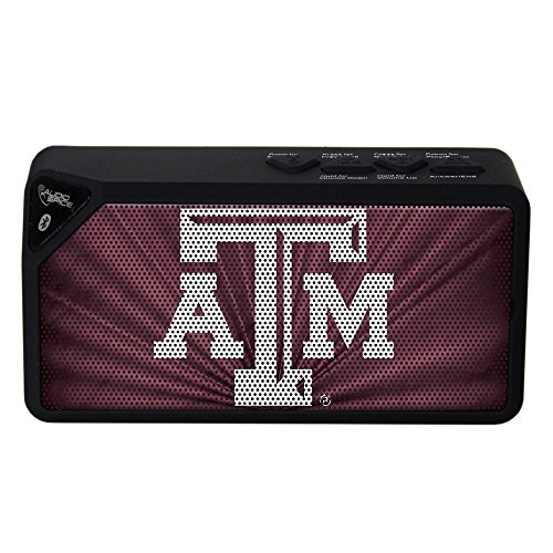 AudioSpice NCAA Texas A&M Aggies BX-100 Bluetooth Speaker, ()