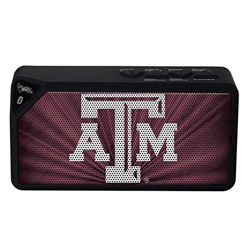 AudioSpice NCAA Texas A&M Aggies BX-100 Bluetooth Speaker, Black