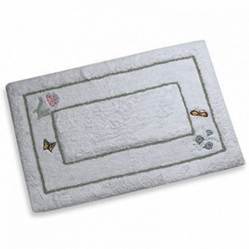- Lenox Butterfly Meadow Bath Rug