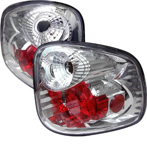 Auto Flareside (Spyder Auto Ford F150 Flareside Chrome Altezza Tail Light by Spyder Auto)