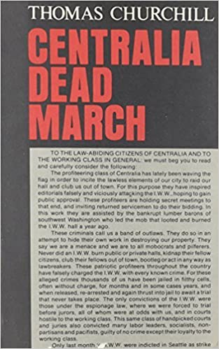 Centralia Dead March by Thomas Churchill (1995-07-15)