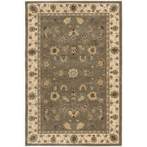 Nourison Nourison 2000 (2003) Olive Rectangle Area Rug, 3-Feet 9-Inches by 5-Feet 9-Inches (3'9