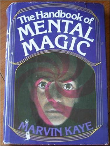 The Handbook of Mental Magic