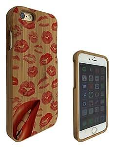 c0211 - Multi Kisses Lips Cool Lipstick Design iphone 6 6S 4.7'