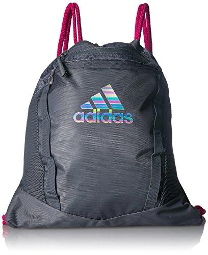 adidas Rumble II Sackpack, Onix/Onix Jersey/Median/Real Magenta, One Size