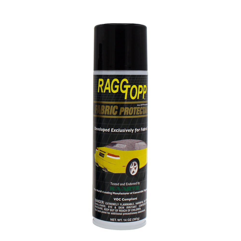 RaggTopp 14 oz Convertible Fabric Top Protectant with UV Blockers for Jeep Mustang Camaro and Germany Cars