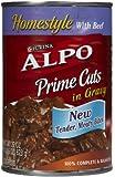 Alpo Prime Cuts in Gravy with Beef - 12x22 oz