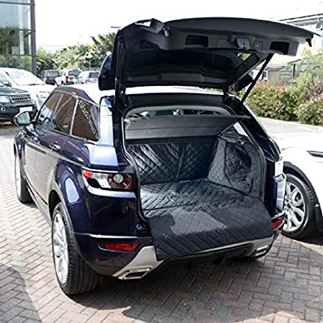 Heavy Duty Rubber Fully Tailored Car Boot Mat Liner Range Rover Evoque 2011+