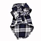 BetteresLife Cute Pets Plaid Shirt Dog Clothes Puppy Clothes For Sale