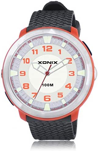 Fashion simple couple of luminous lighting waterproof quartz watches-A