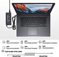 Sunydeal Cargador Adaptador Fuente de Alimentación para Portátil HP , 19V 4.74A, 90W, 7.4 x 5.0mm , Compatible con HP Pavilion G4 G6 G6t G7 M6 M7, HP ...