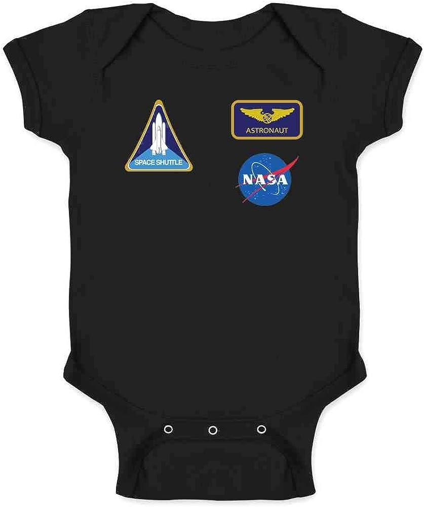 Pre-Shrunk Cotton Snap-On Style Baby Bodysuit Funny Police Baby Bodysuit