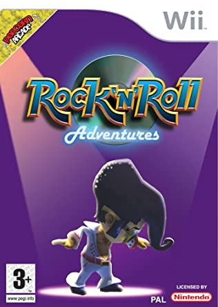 Rock And Roll Games >> Amazon Com Rock N Roll Adventures Wii By Ddi Video Games