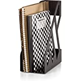 Officemate OIC Achieva Magazine File, Recycled, Black (26215)