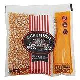 Superior Popcorn Organic 8 oz Portion 24 Pack