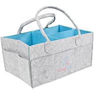 Luxury Little Baby Diaper Caddy :: Extra Large Storage...