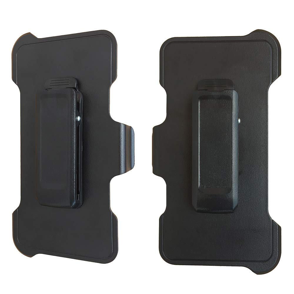 2 Pack Replacement Holster Belt Clip for Apple iPhone 8//7//6S//6 Otterbox Defender Case