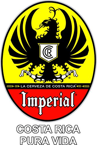 Cerveza Imperial Costa Rica Sticker (colors)