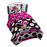 Disney Minnie Mouse Bows and Dots are the New Black Twin 3pc Sheet Set
