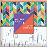 Nail Polish Clutch + Nail Art Sketchpad, Chronicle Books, 1452134502