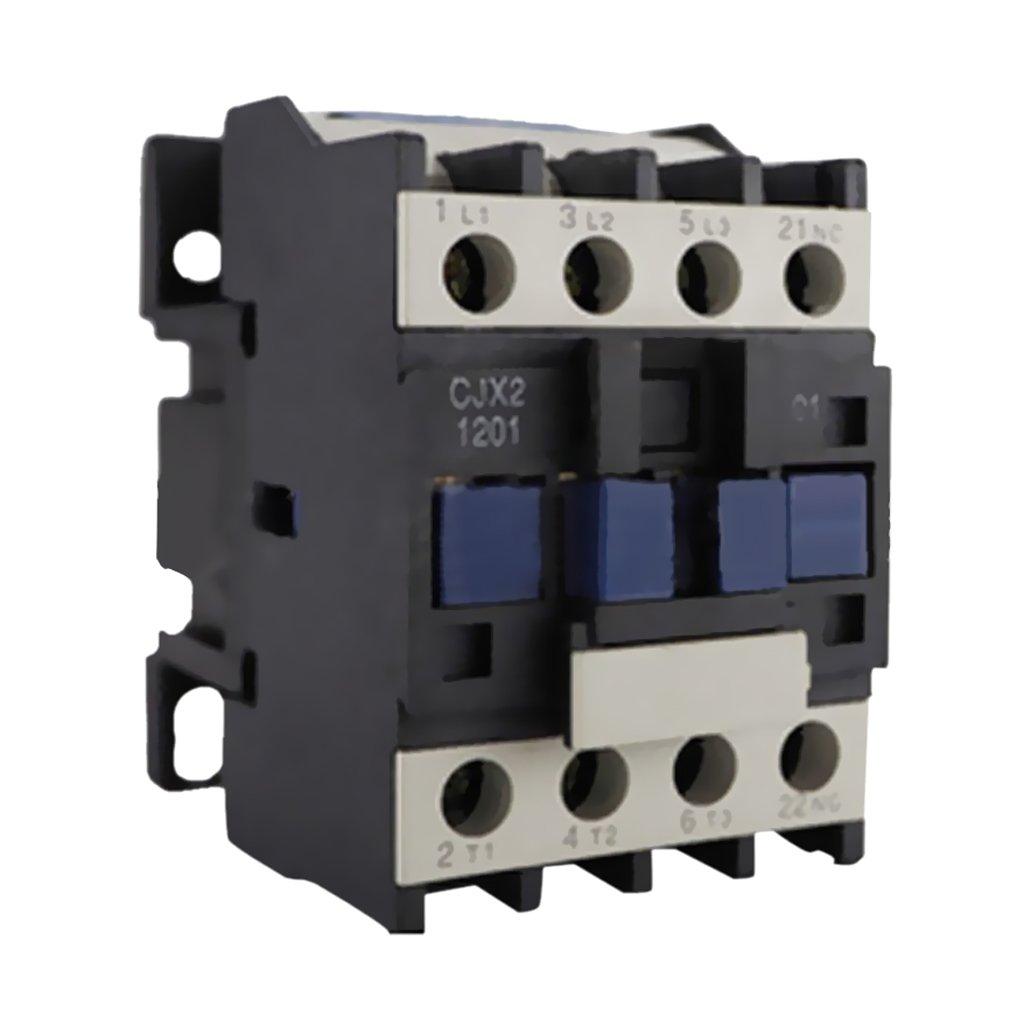 Dovewill High Strength CJX2-1201 AC 24V-380V Coil 3-Phase 50/60Hz Motor Starter Contactor - 220V by Dovewill (Image #3)