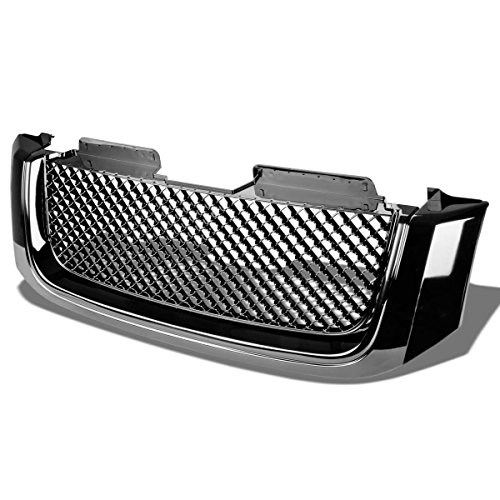 gmc-envoy-xl-abs-plastic-sport-mesh-front-bumper-grille-black-2nd-gen