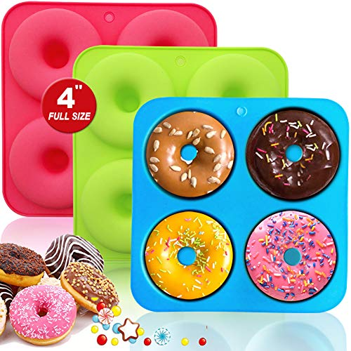 Silicone Donut Pan Molds