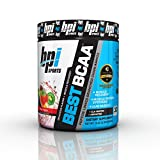 BPI Sports Best BCAA Powder, Branched Chain Amino Acids, Fruit Punch - Build Muscle, Improve Recovery and Enhanced Energy Levels 30 Servings, 5g BCAA