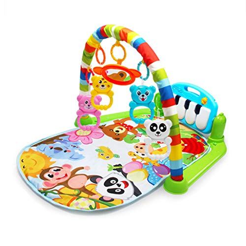 Clearance Sale!DEESEE(TM)Large Baby Game Pad Music Pedal Piano Music Fitness Rack Crawling Mat