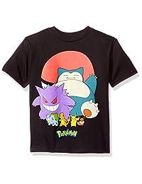 Pokémon boys Little Boys Pokeball Group Short-sleeved Tee