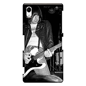 Shock-Absorbing Hard Cell-phone Case For Sony Xperia Z2 (npx798kJEK) Custom Realistic Ramones Band Image
