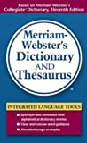 img - for Merriam-Webster's Dictionary and Thesaurus book / textbook / text book