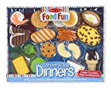 Melissa & Doug Food Fun Combine & Dine Dinners Toy, Blue offers