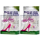 2 Boxes Heels Above High Heel Protectors- Clear
