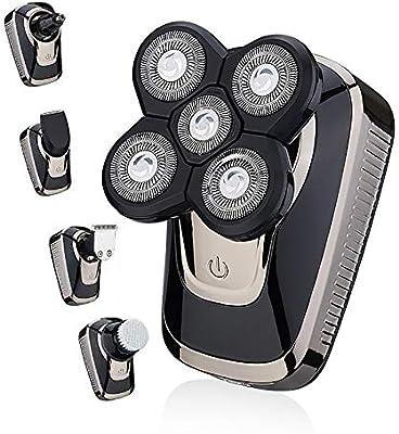 Afeitadoras eléctricas recargables USB para hombres con 4 ...
