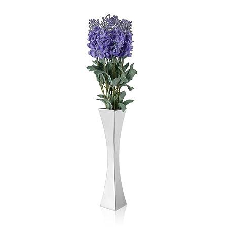 Vancore Metal Single Flower Vase For Rosestainless Steel Bud Vases