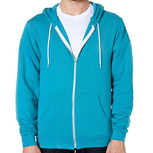 Green f497 Polaire American Zippé À Sweat Flex Capuche Mermaid Apparel wRqxnqz40