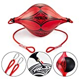 Haploon Double End Ball with Pump Leather Boxing