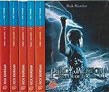 percy jackson complet en 5 tomes 1 le voleur de foudre 2 la mer des monstres 3 le sort du titan 4 la bataille du labyrinhe 5 le dernier olympien
