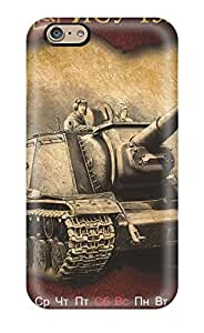 SroEX1565prlKn WalkingStreet Awesome Case Cover Compatible With Iphone 6 - World Of Tanks Calendar