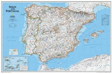 España/Portugal mapa: Amazon.es: Oficina y papelería