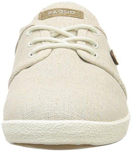 Faguo Cypress01, Women's Low Blanc (001 White Shine)