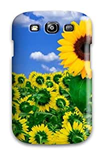 ElsieJM Galaxy S3 Well-designed Hard Case Cover Flower Protector