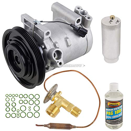 AC Compressor w/A/C Repair Kit For Nissan Frontier & Xterra 2001 2002 - BuyAutoParts 60-81358RK NEW - Compressor A/c Frontier Nissan