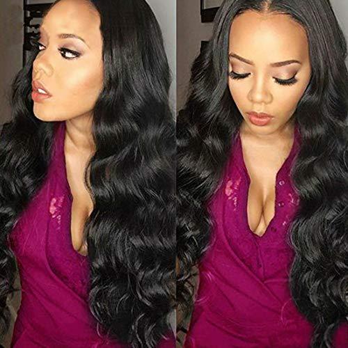 YYONG Brazilian Hair Bundles Weave Hair Human Bundles of Brazilian Hair Body Wave 3 Bundles Human Hair Extensions Human Hair 100% Unprocessed Virgin Brazilian Hair Wet And Wavy Bundles 20 22 24 Inch