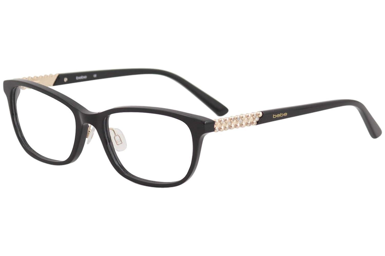 a6475e357b5 Bebe Women s Eyeglasses BB5154 BB 5154 001 Jet Full Rim Optical Frame 52mm