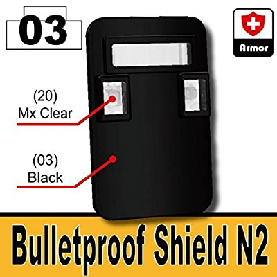 AFM bulletproof shield N2 Black by AFM that we recomend individually.