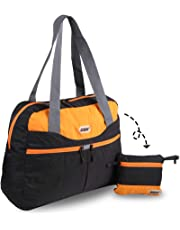 GOX Foldable Travel Duffle Bag Tote Bag Shopping Bag Sports Gym Bag Weekend Bag
