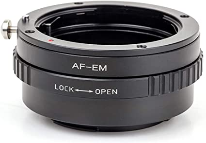 Pixco Lens Adapter Suit for Sony Minolta MA Lens to Canon EOS M Camera