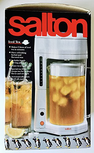 Salton best iced tea maker